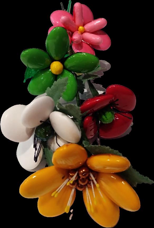 Bouquet confidence en dragées chocolat