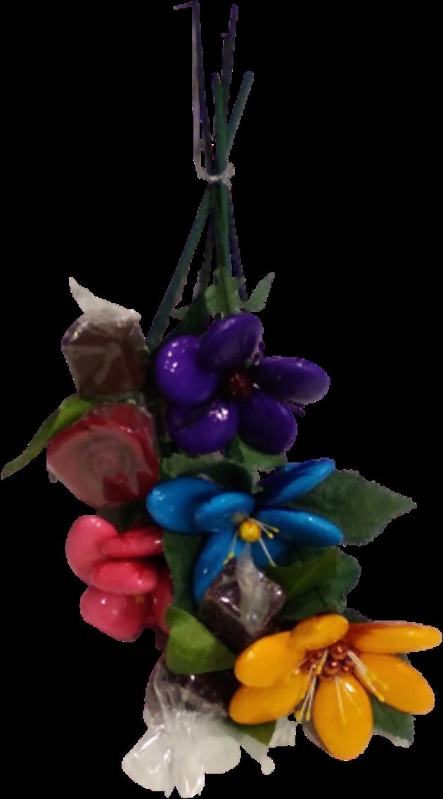 Bouquet douceurs chocolats, confiseries et dragées chocolat