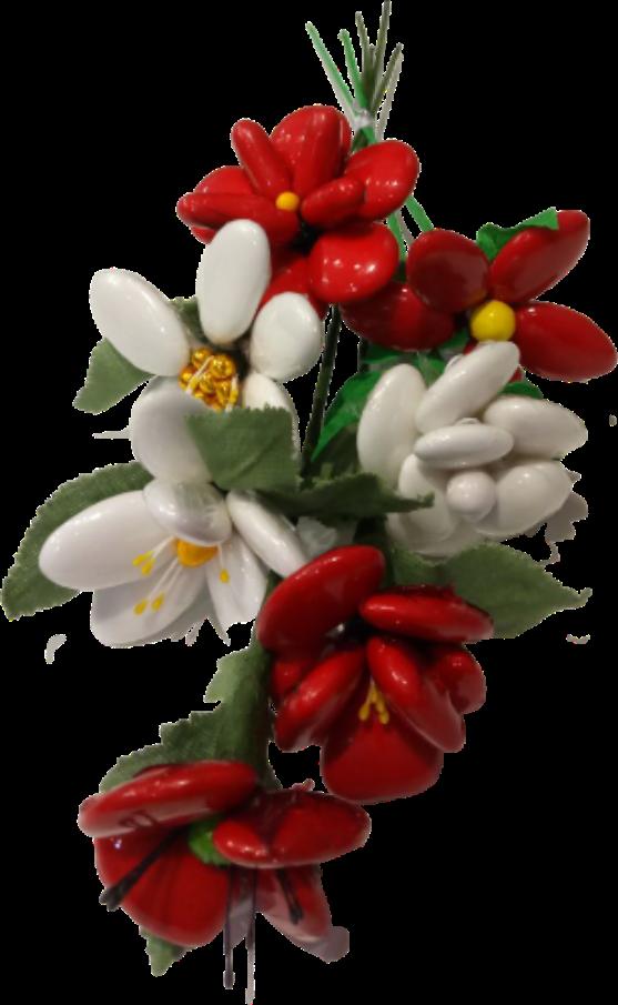 Bouquet Saint Valentin 1 dragées chocolat