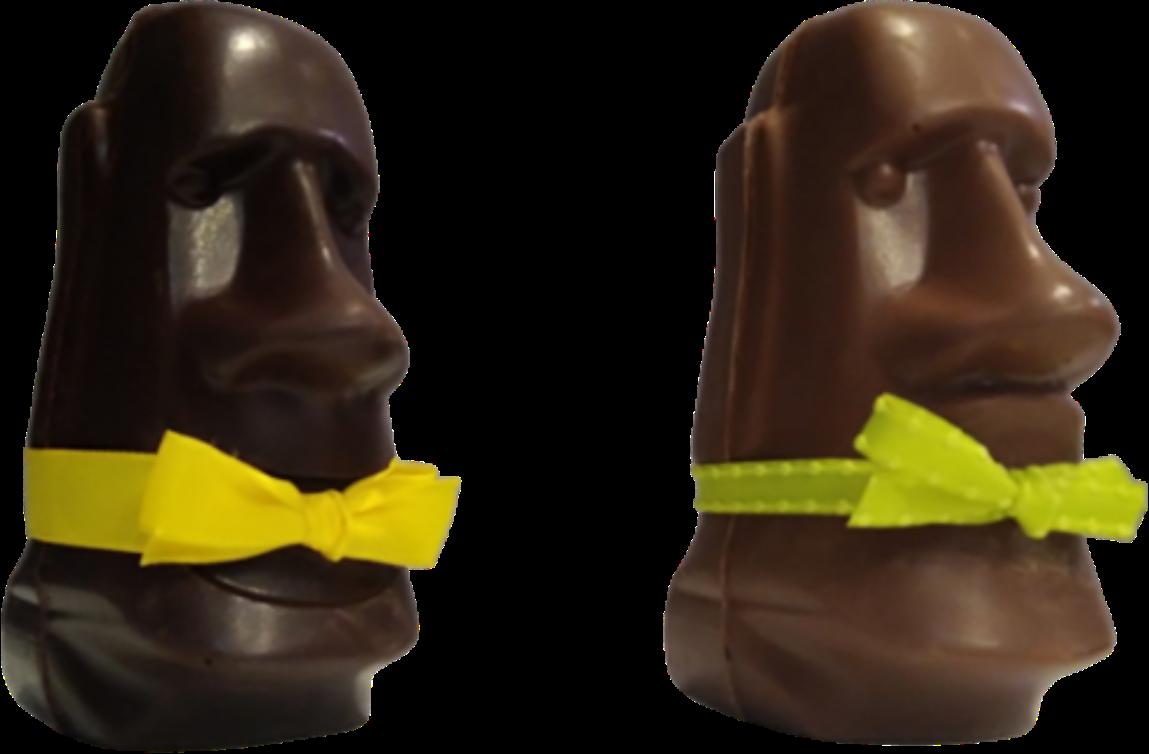 Tête de Pâques chocolat Pâques