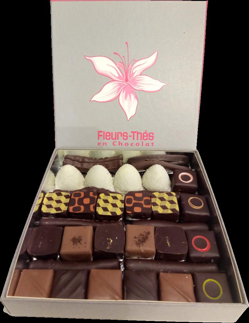 Ecrin chocolats Papa partage
