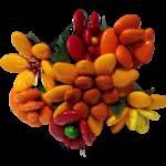 Bouquet rond aestas en dragées chocolat