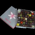 Ecrin de chocolats partage