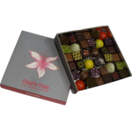 Ecrin de chocolats invitation