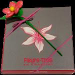 Ecrin de chocolats 320g et fleur de dragées