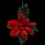 Rose de Noel en dragées chocolat