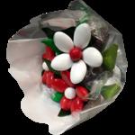 Mini bouquet Saint Valentin chocolats et dragées 1