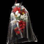 Bouquet Saint Valentin 2 dragées chocolat