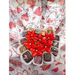 Bouquet coeur chocolat 2