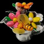 Arrosoir dragées et chocolats abeille
