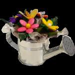 Arrosoir dragées et chocolats fête des mères abeille