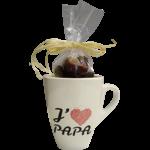 Mug chocolats fête des pères