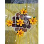 Bouquet chocolats tournesols
