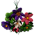 Bouquet rond amitiés en dragées chocolat