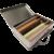Valisette de crayons en chocolat pleine