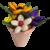 Pot pastel dragées chocolat