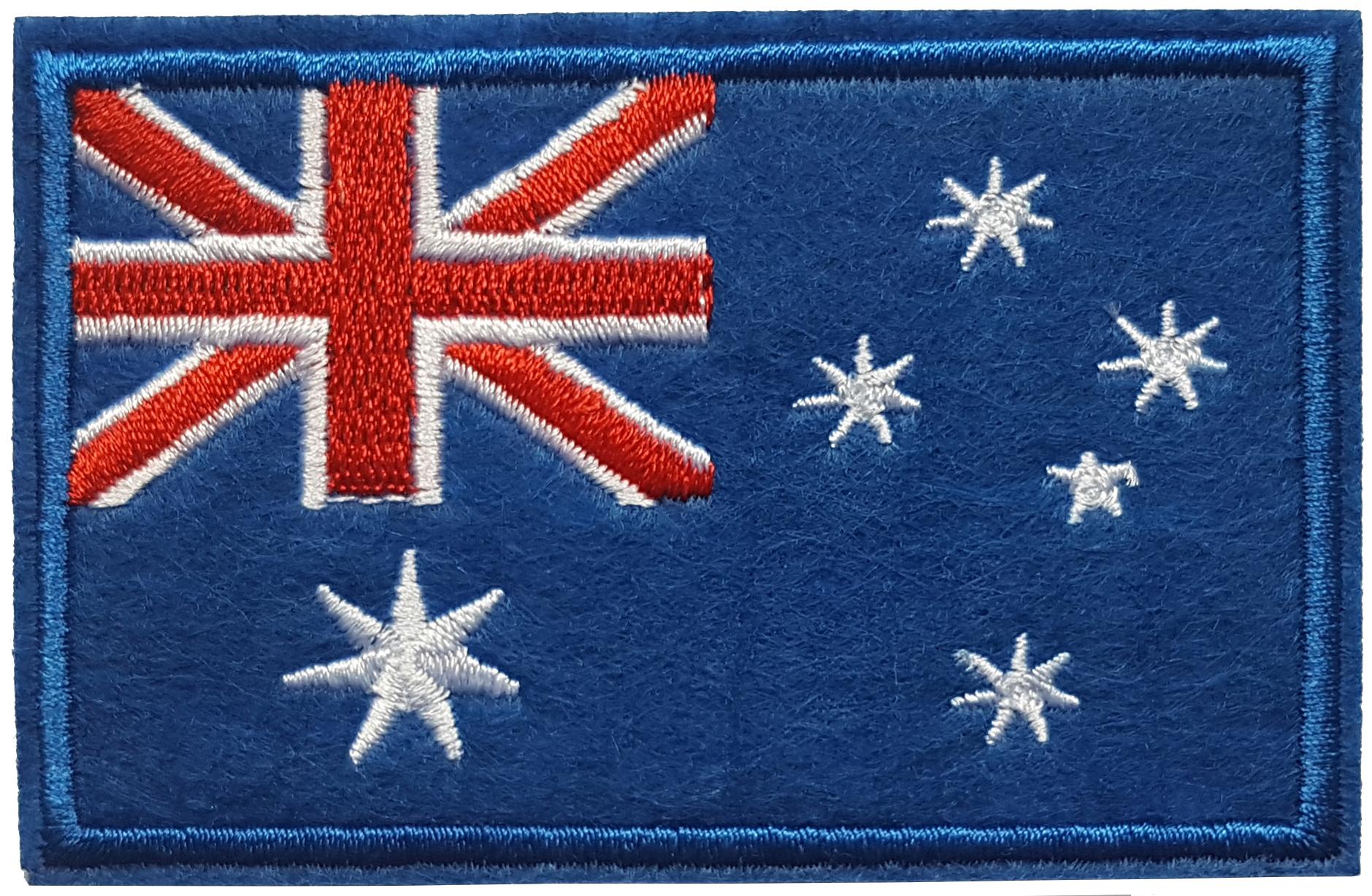 Patch thermocollant drapeau Australie