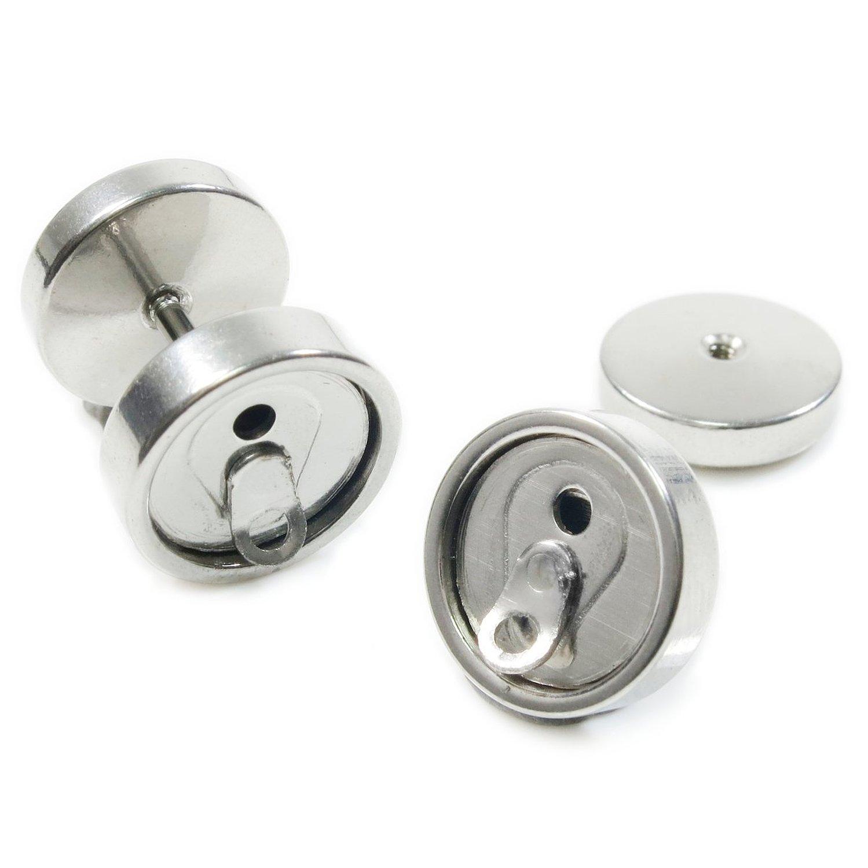 Piercings Faux Écarteurs Plug Canette de Soda