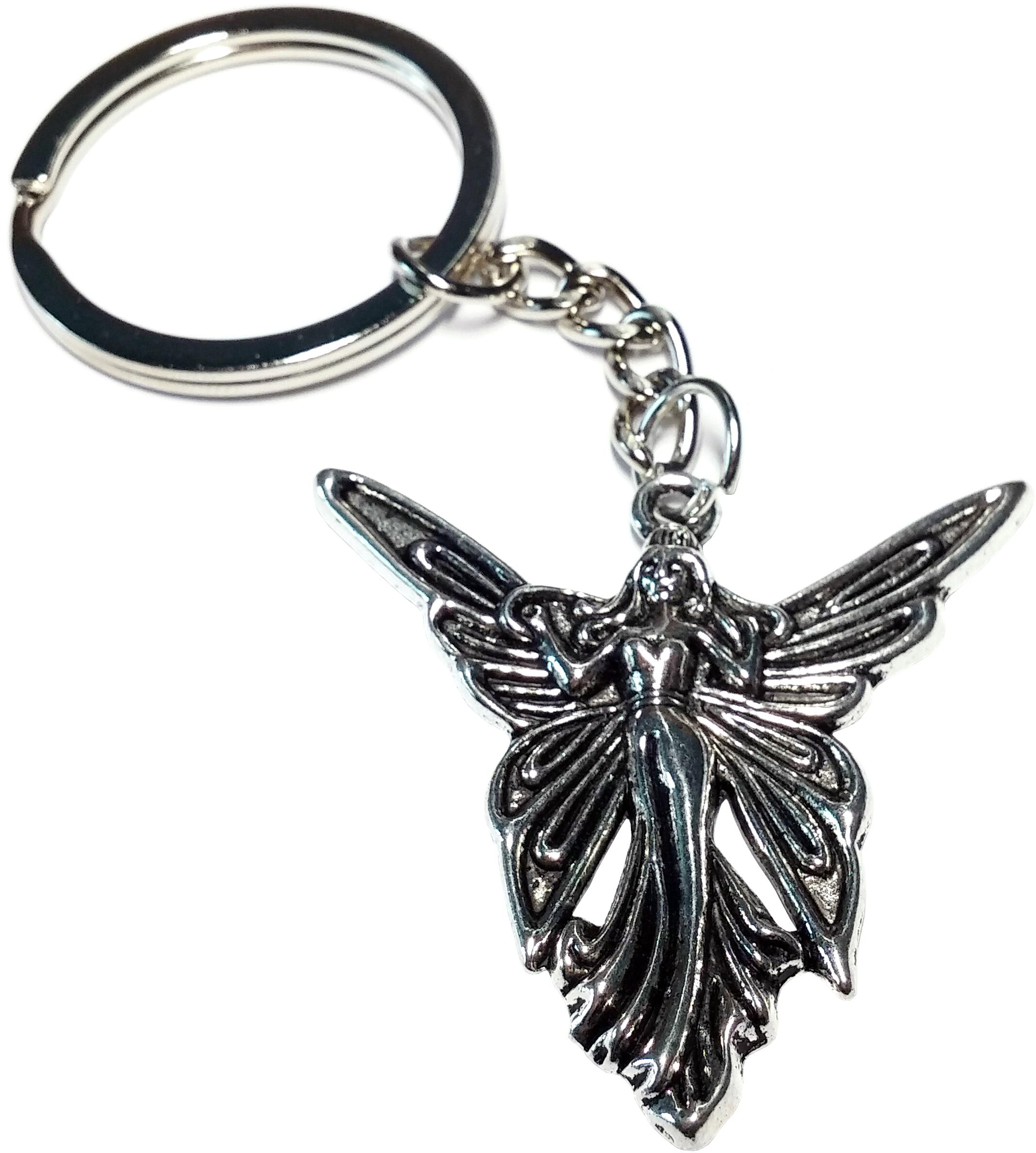 Porte Clé Métal Femme Papillon Mavka