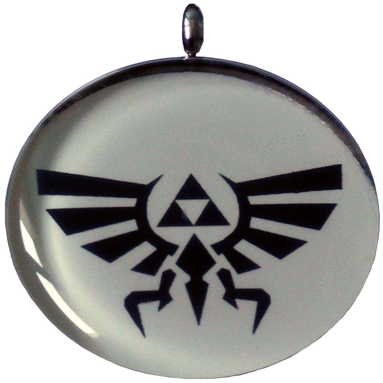 Pendentif Acier Inoxydable Triforce Zelda