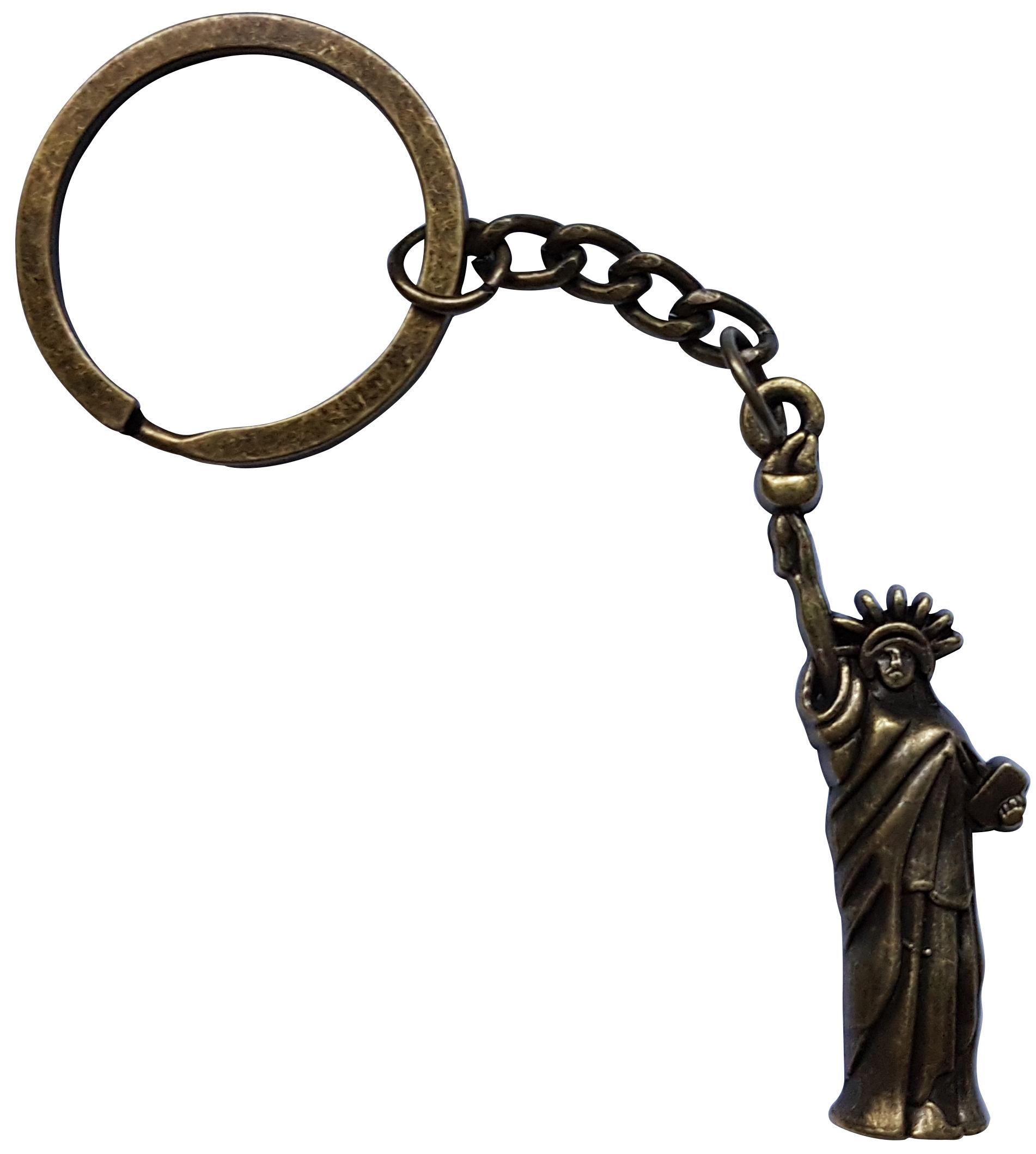 Porte Clé Métal Statue de la Liberté