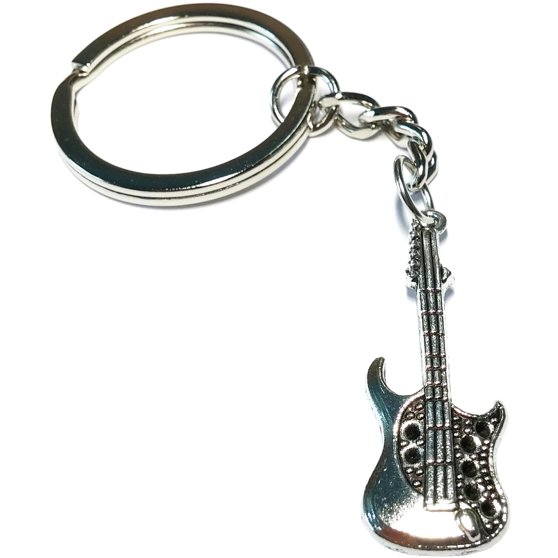 Porte Clé Métal Guitare Électrique