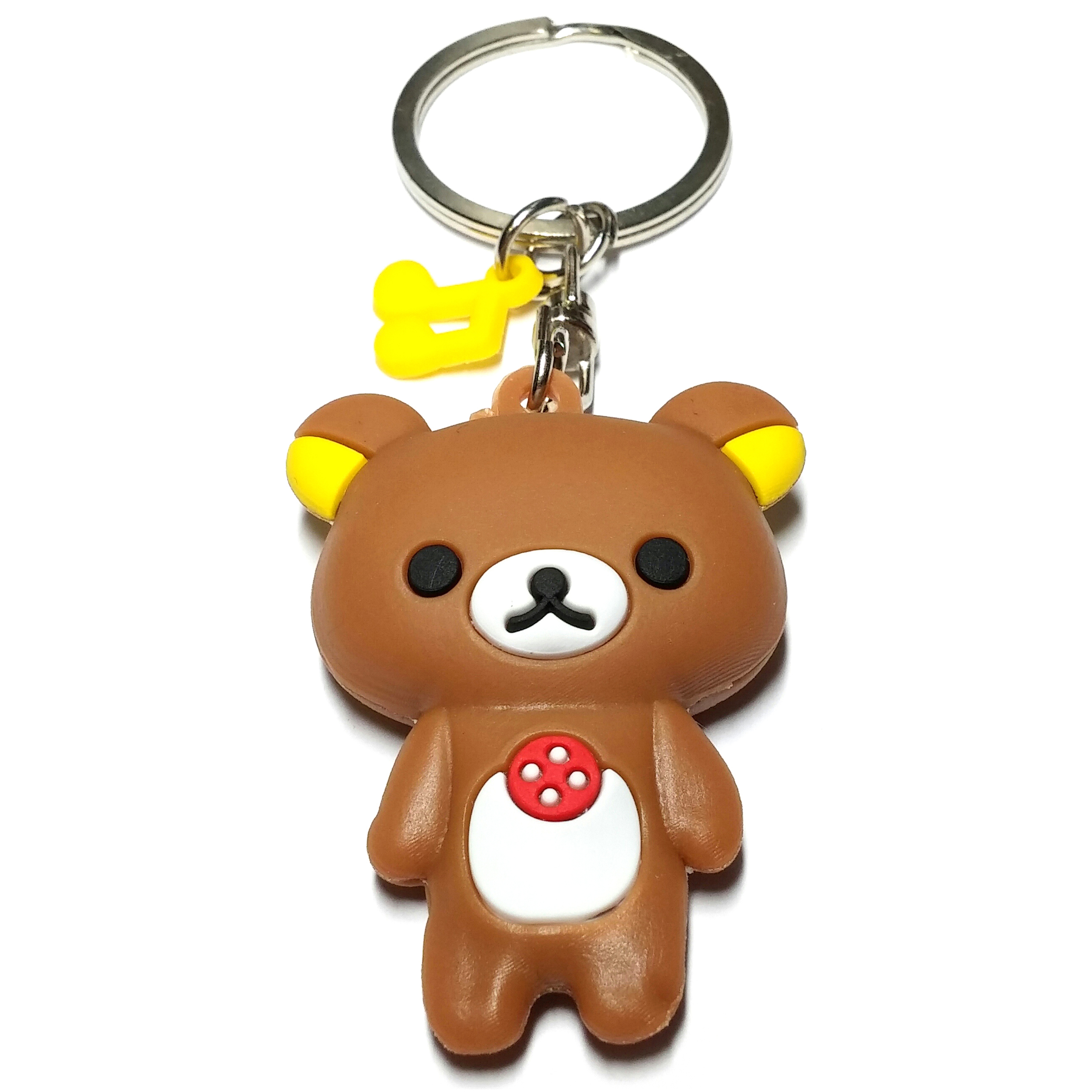 Porte Clé Ours Kawaii Marron