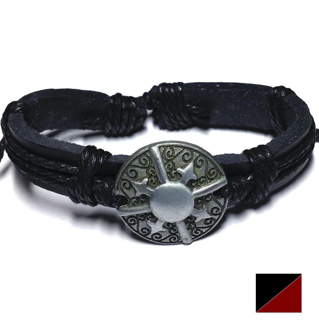 Bracelet Cuir Viking