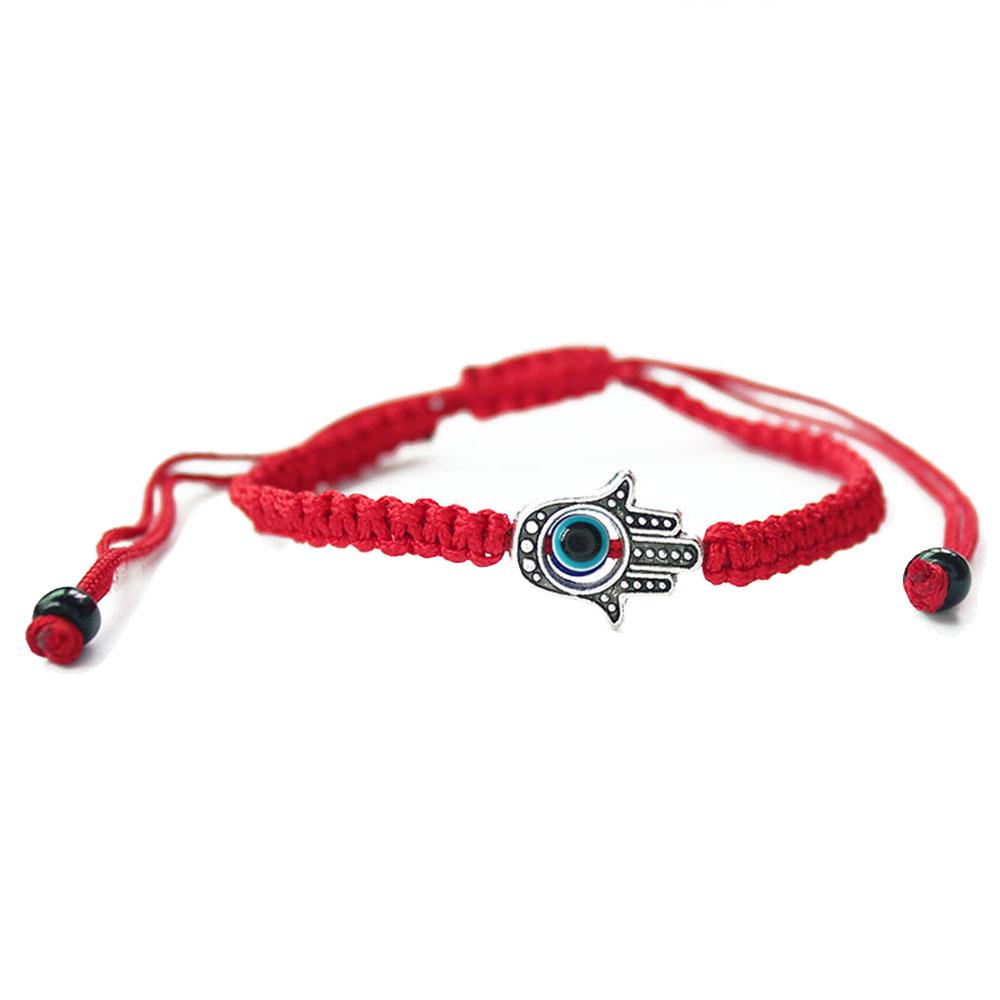 Bracelet Shamballa Rouge Main de Fatma Nazar Boncuk