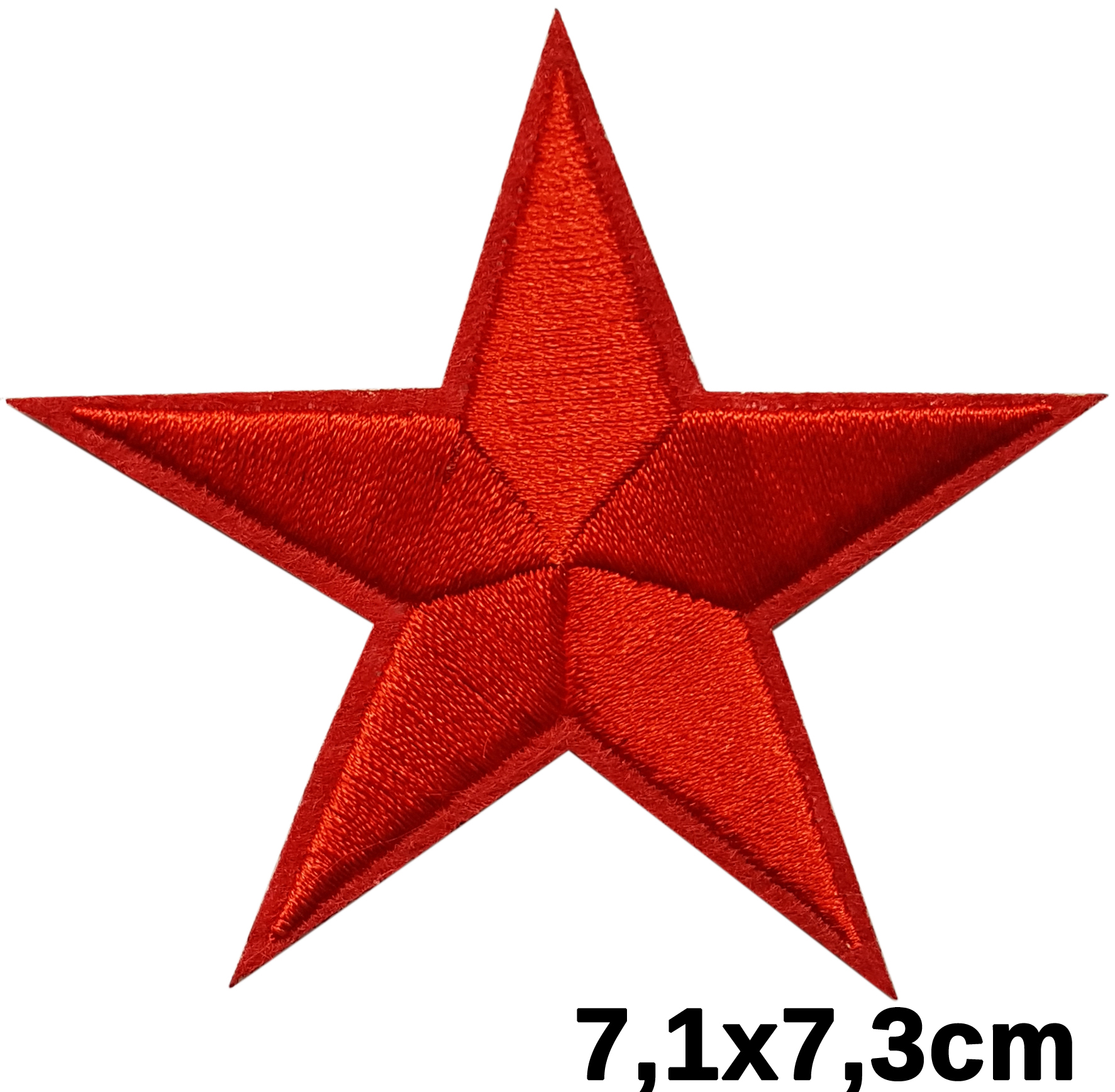 Patch thermocollant étoile rouge