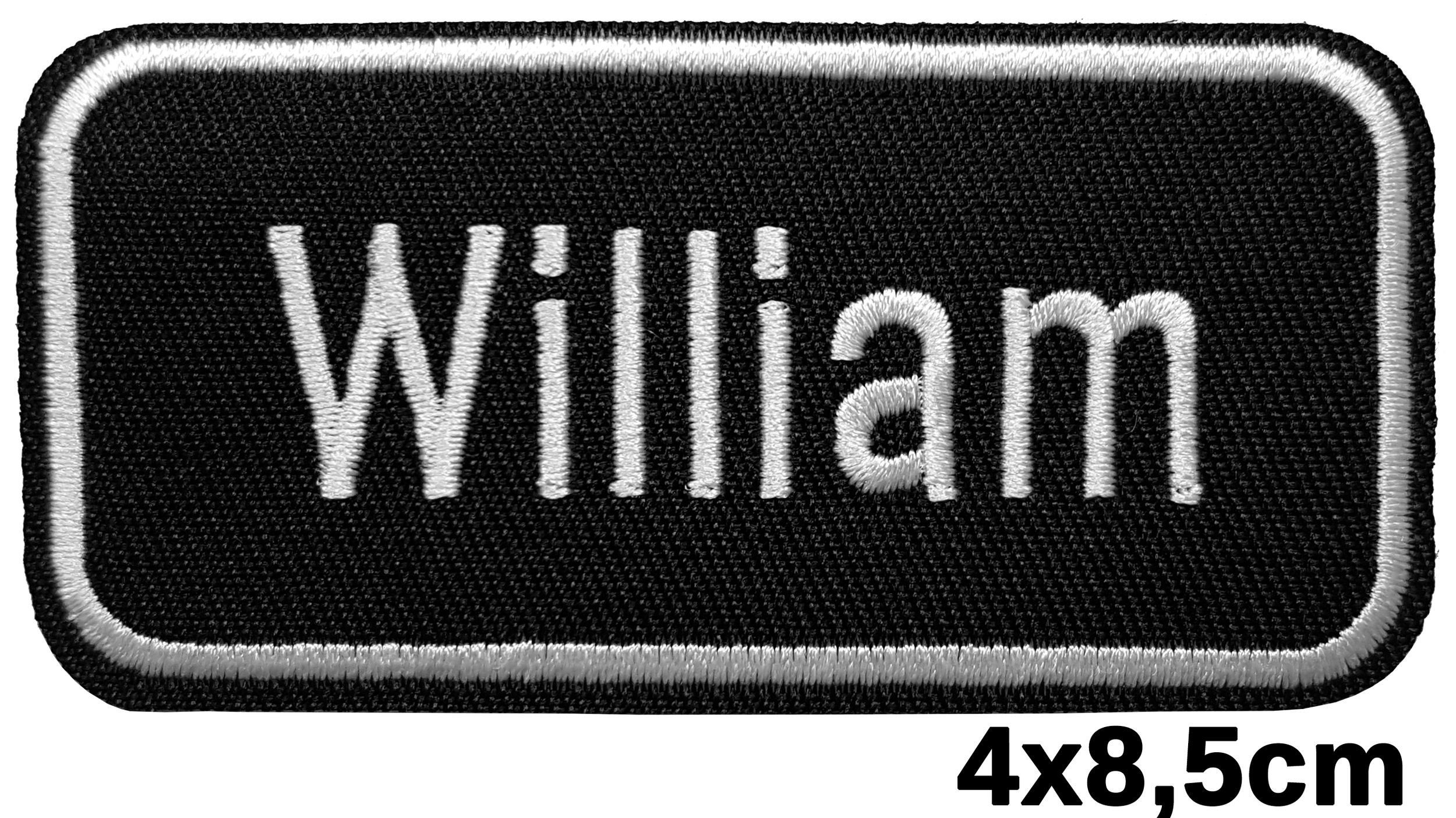 Patch thermocollant prénom William