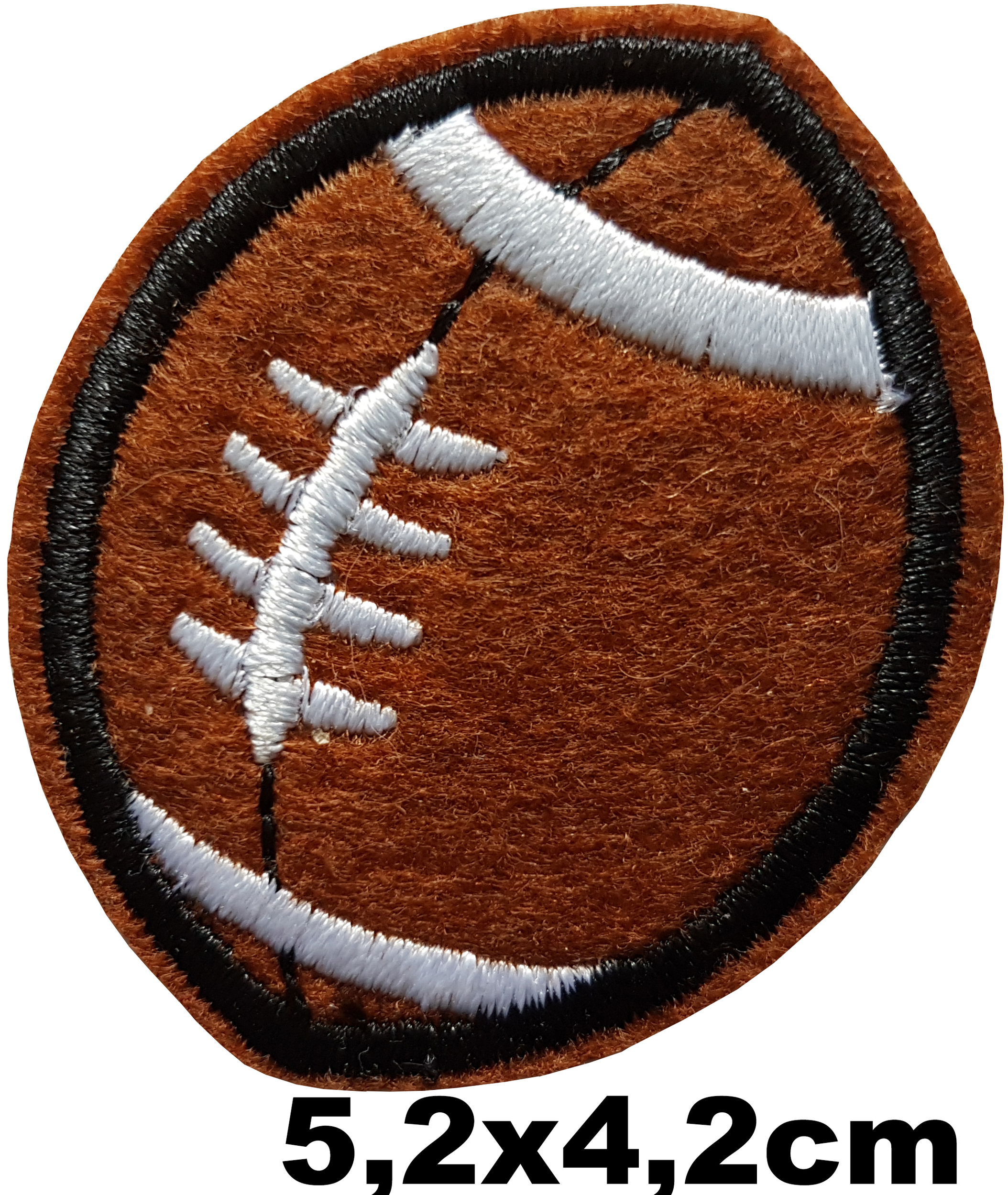 Patch thermocollant ballon de rugby