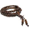 Bracelet Chapelet Bouddhiste Marron