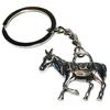 Porte clé en métal âne