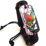Bracelet en Cuir Papillon