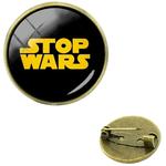 Broche métal paradoqiue stop wars 2