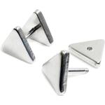 Piercings  Faux écarteur Triangle Argenté 6mm 1