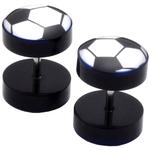 Piercings Faux Écarteurs Plug ballon de foot