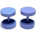 Piercings Faux Écarteurs Plug Bleu Ciel 8mm 2