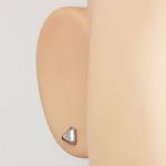 Piercings Faux Écarteurs Plug Triangle Argenté 6mm 2
