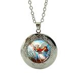 Collier Pendentif Médaillon archange saint Michel modèle 1