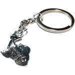 Porte clé en métal poisson carpedessous