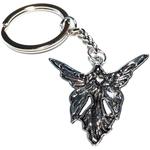 Porte clé en métal femme papillon mavka dessous