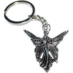 Porte clé en métal femme papillon mavka