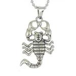 Collier Pendentif Acier Inoxydable Scorpion