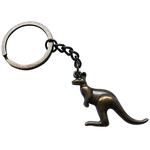 Porte clé métal kangourou
