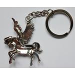 Porte clé métal pégase cheval ailé dessous