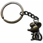 Porte clé métal souris