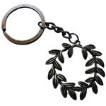 Porte clé métal couronne de laurier