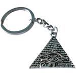 Porte clé pyramide oeil d'horus